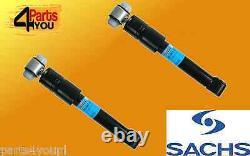 Sachs 2x Shock Absorbers Ensemble Arrière Mercedes Classe A W168 168031 168131