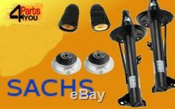 Sachs Bmw E36 318 316 3-series Amortisseur Set Avant Kit Amortisseurs Support Supérieur