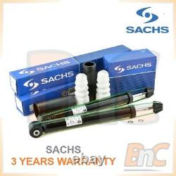 Sachs Heavy Duty Rear Shock Absorbers + Dust Cover Kit Audi A6 Skoda Superb