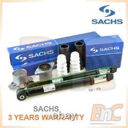 Sachs Oem Heavy Duty Rear Shock Absorbers Top Struts Mounting Dust Covers Kit